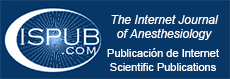 Internet Journal of Anesthesiology