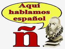 En esta página se habla y escribe en español.